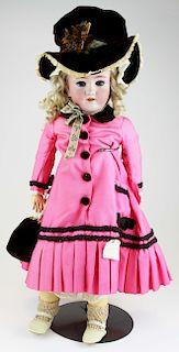 Heinrich Handwerck bisque socket head doll