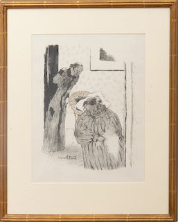 Edouard Vuillard (1868-1940): La Sieste, ou La Convalescence
