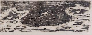 MILTON CLARK AVERY, (American, 1885-1965), Birds and Sea
