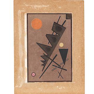 "Wassily Kandinsky, ""Composition"", 1924"