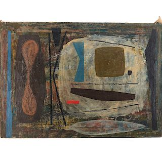 Joe Stefanelli, Abstract Composition, 1949