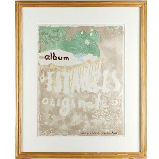 Edouard Vuillard, Album d'estampes Originales