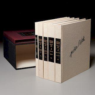 BOOKS: (5) Vols Jackson Pollock Catalogue Raisonne