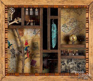 Shadowbox of curiosities