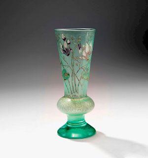 Cyclamens' vase, c. 1890