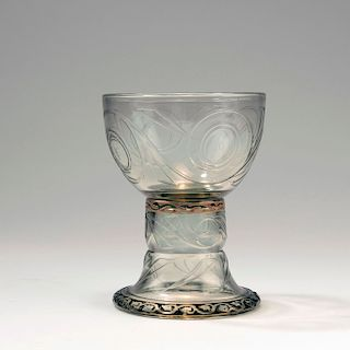 Wine glass, 1884