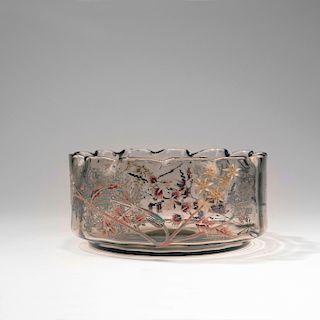 Cerfeuil herisse' bowl, 1889-95