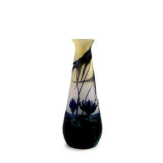 Sagittaires et Nenuphars' vase, 1908-14