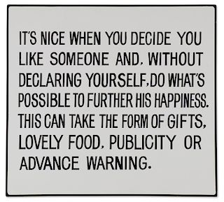 ORIGINAL JENNY HOLZER WITH GREAT PROVENANCE