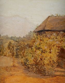 LANDSCAPTE ATTRIBUTED TO HASSAM
