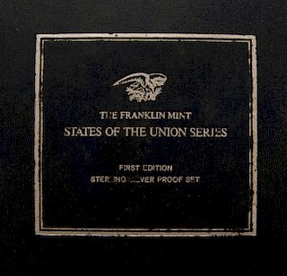 Franklin Mint State of Union Series Comm Medals