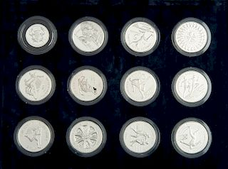 1986 Commonwealth Games Silver Proof Set