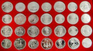 1976 Canada Olympics Silver Proof Set