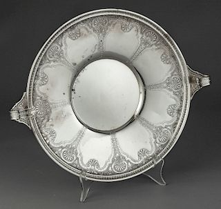 J. S. & Co. Sterling Silver Persian Handled Plate