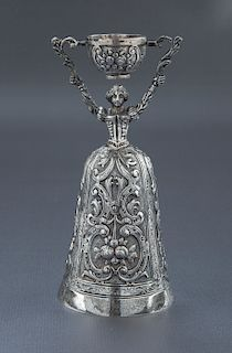 Israel Freeman & Son Sterling Silver Wedding Cup