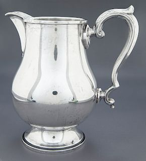 Fisher Early Georgian Sterling Pitcher