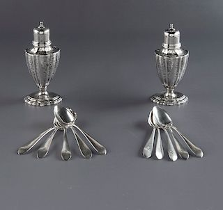 12 Pcs Grogan Company Sterling Silver