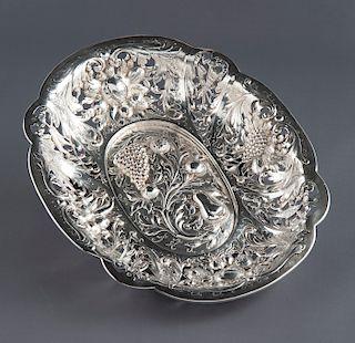 E. F. Caldwell New York Silver Fruit Bowl