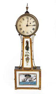Boston Style Federal Banjo Clock