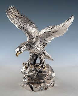 A. Giannelli Silver Plated Eagle
