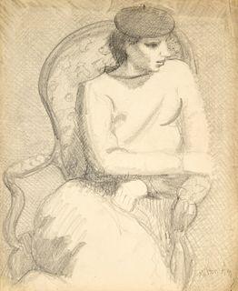 Milton Avery Drawing