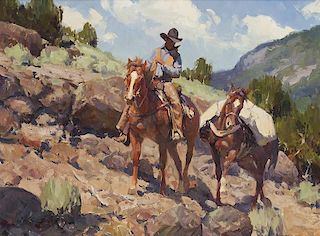 Jim C. Norton b. 1953 CAA, NWR   Along the Ridge