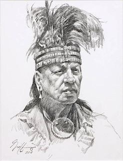 Robert Griffing b. 1940   Feather Hat