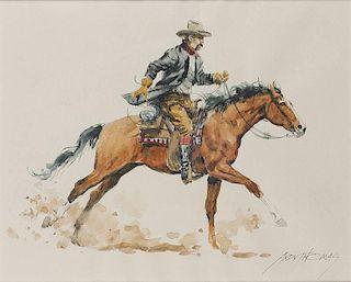 Andy Thomas b. 1957   Dangerous Ride