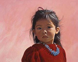 George Molnar b. 1953   Little Blossom