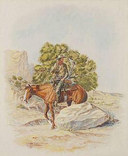 Byron Wolfe 1904 - 1973 CAA   Dodging Comanches and Hunting Water