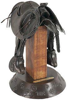 Fred Fellows b. 1934 CAA   Paniolo Saddle