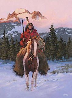 Chuck Ren 1941 - 1995   Winter Scout