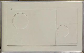 * After Ben Nicholson, (British, 1894-1982), White Relief, 1935