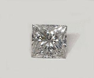 PRINCESS CUT 1.4 CARAT DIAMOND, LOOSE