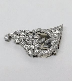 DIAMOND SWEATER OR SCARF CLIP APPROX. 6.0 DWT