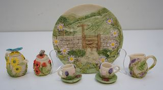 MINI TEA SET FLOWERS & INSECTS