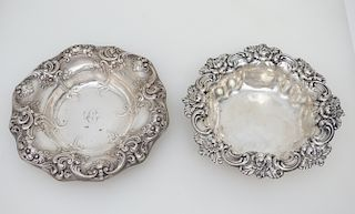 2 STERLING BOWLS GORHAM & WHITING