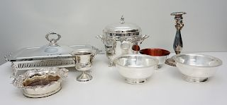 8 pc GOOD SILVER PLATE WALLACE +