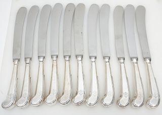 11 KIRK QUEEN ANNE DINNER KNIVES