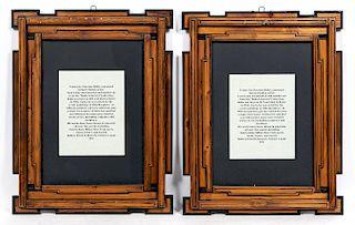 Pair, Giacomo Balla Italian Futurist Frames