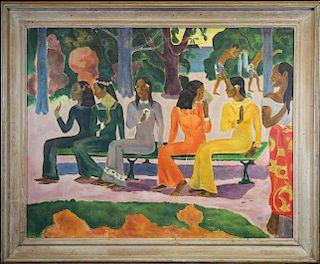 Manner of Paul Gauguin (1848 - 1903)