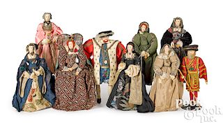 Liberty of London Henry VIII and wives dolls