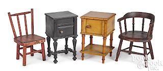Doll size diminutive furniture