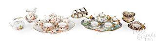 Child's tea sets and china