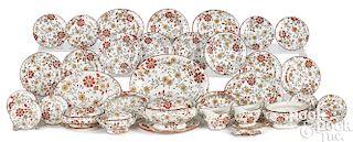 Child's Staffordshire Persia dinnerware service
