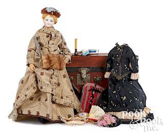 French Francois Gaultier fashion doll
