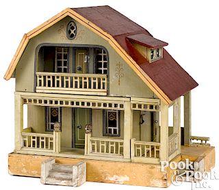 Gottschalk red roof dollhouse