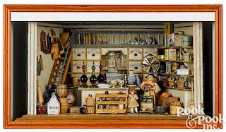 Dry goods and grocery store room box