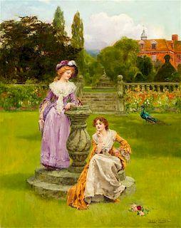 Henry John Yeend King, (British, 1855-1924), At the Sundial