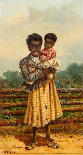 William Aiken Walker, (American, 1838-1921), Mother and Child